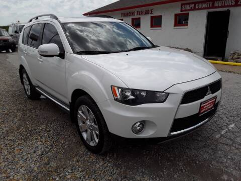 2012 Mitsubishi Outlander for sale at Sarpy County Motors in Springfield NE