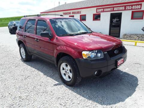 2006 Ford Escape for sale at Sarpy County Motors in Springfield NE