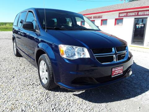 2012 Dodge Grand Caravan for sale at Sarpy County Motors in Springfield NE