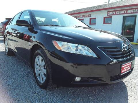 2008 Toyota Camry for sale at Sarpy County Motors in Springfield NE