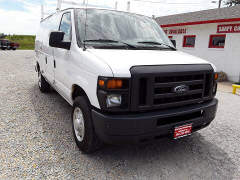 2013 Ford E-Series Cargo for sale at Sarpy County Motors in Springfield NE