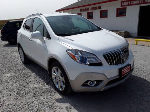 2016 Buick Encore for sale at Sarpy County Motors in Springfield NE
