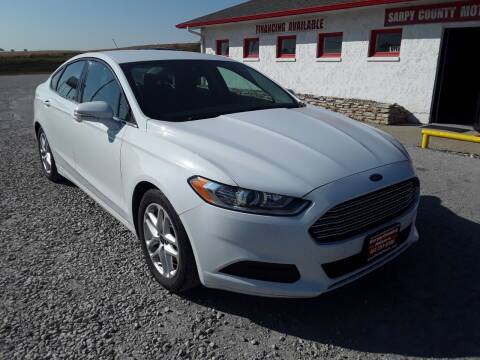 2015 Ford Fusion for sale at Sarpy County Motors in Springfield NE