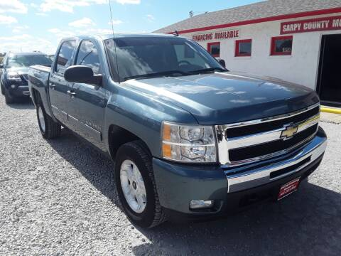 2011 Chevrolet Silverado 1500 for sale at Sarpy County Motors in Springfield NE