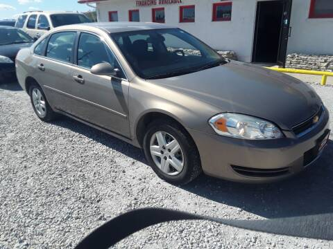 2007 Chevrolet Impala for sale at Sarpy County Motors in Springfield NE
