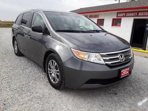 2011 Honda Odyssey for sale at Sarpy County Motors in Springfield NE