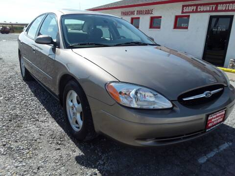 2003 Ford Taurus for sale at Sarpy County Motors in Springfield NE