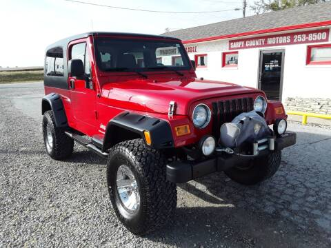 2006 Jeep Wrangler for sale at Sarpy County Motors in Springfield NE