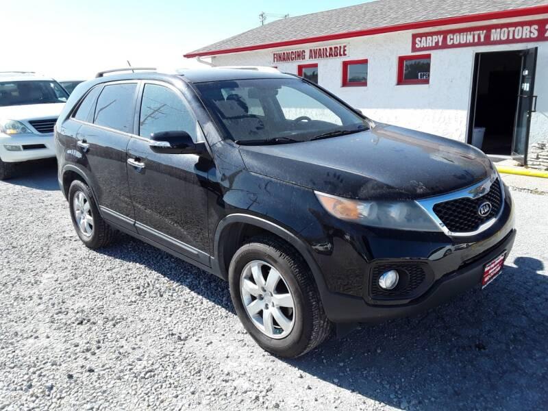 2011 Kia Sorento for sale at Sarpy County Motors in Springfield NE