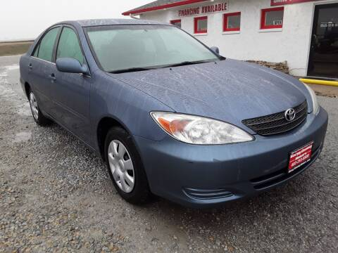 2002 Toyota Camry for sale at Sarpy County Motors in Springfield NE