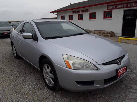 2005 Honda Accord for sale at Sarpy County Motors in Springfield NE