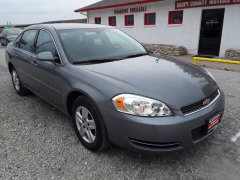 2008 Chevrolet Impala for sale at Sarpy County Motors in Springfield NE