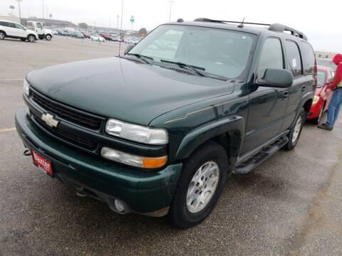 2004 Chevrolet Tahoe for sale at Sarpy County Motors in Springfield NE