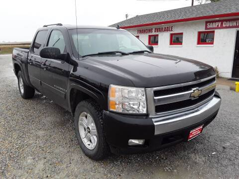 2007 Chevrolet Silverado 1500 for sale at Sarpy County Motors in Springfield NE