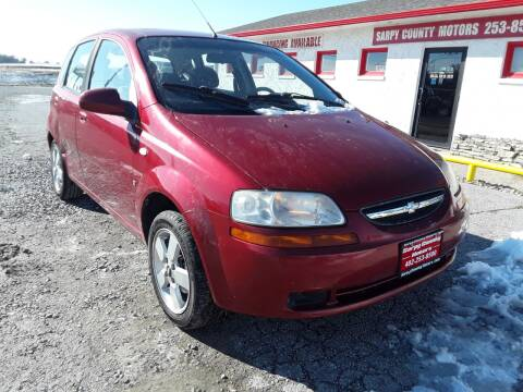 2008 Chevrolet Aveo for sale at Sarpy County Motors in Springfield NE