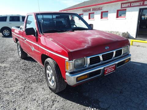1996 Nissan Truck for sale at Sarpy County Motors in Springfield NE