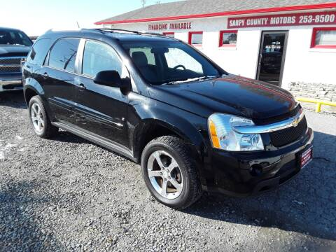 2007 Chevrolet Equinox for sale at Sarpy County Motors in Springfield NE