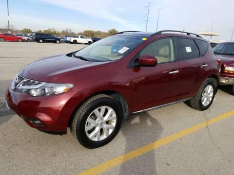 2012 Nissan Murano for sale at Sarpy County Motors in Springfield NE