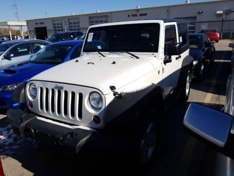 2010 Jeep Wrangler for sale at Sarpy County Motors in Springfield NE