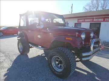 1984 Jeep CJ-7 for sale in Springfield, NE