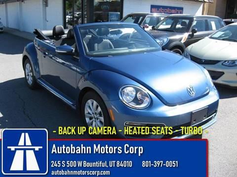 2019 Volkswagen Beetle for sale in Bountiful, UT