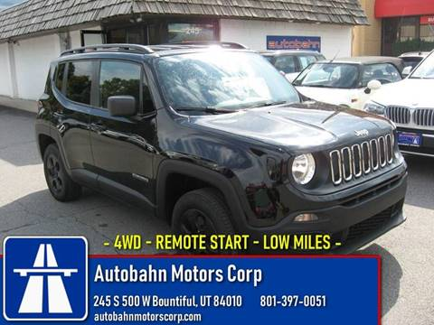 2016 Jeep Renegade for sale in Bountiful, UT