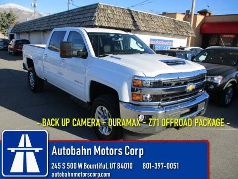 2019 Chevrolet Silverado 2500HD LT for sale at Autobahn Motors Corp in Bountiful UT