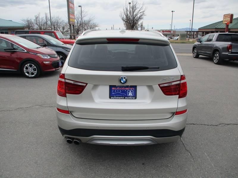 2017 BMW X3 xDrive28i (image 7)