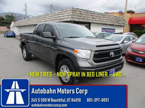 2015 Toyota Tundra SR for sale at Autobahn Motors Corp in Bountiful UT