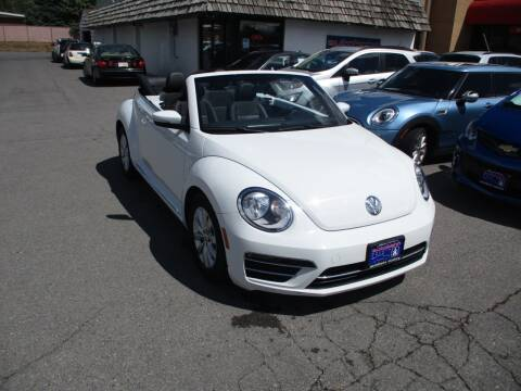 2018 Volkswagen Beetle Convertible 2.0T S for sale at Autobahn Motors Corp in Bountiful UT