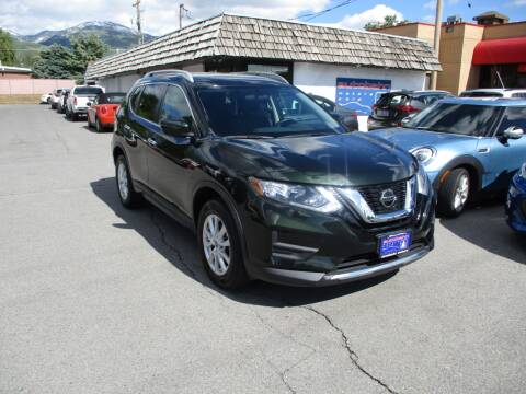 2018 Nissan Rogue SV for sale at Autobahn Motors Corp in Bountiful UT