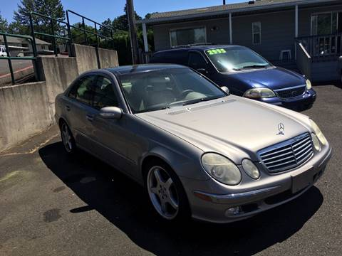 2003 Mercedes-Benz E-Class for sale in Keizer, OR