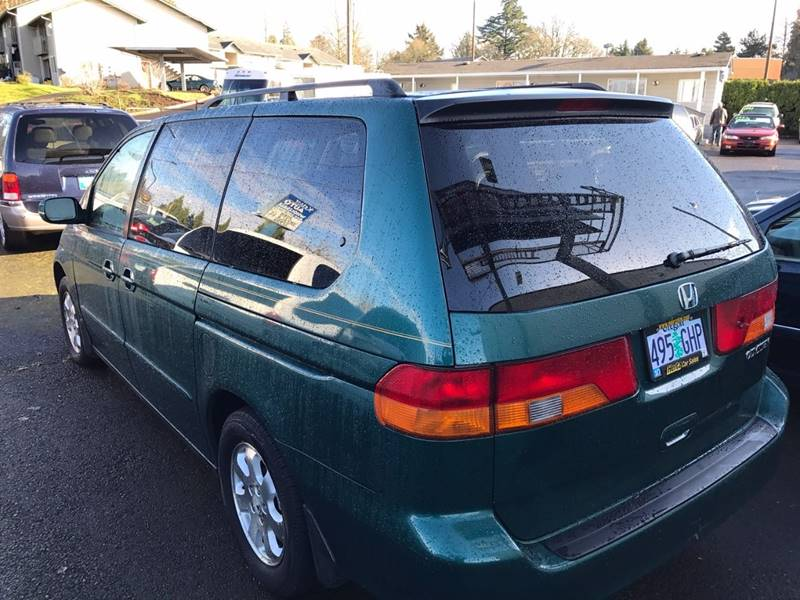 2002 Honda Odyssey EX-L 4dr Mini-Van w/DVD and Leather - Keizer OR