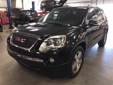 2010 GMC Acadia for sale at Dunn-Rite Auto Group in Kilmarnock VA