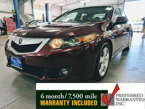 2009 Acura TSX for sale at Dunn-Rite Auto Group in Kilmarnock VA