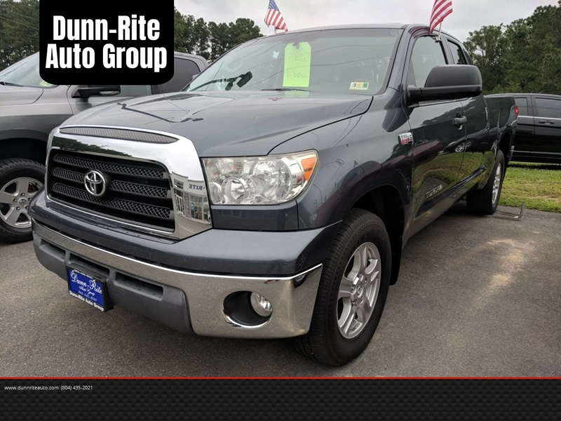 2008 Toyota Tundra For Sale At Dunn Rite Auto Group In Kilmarnock VA