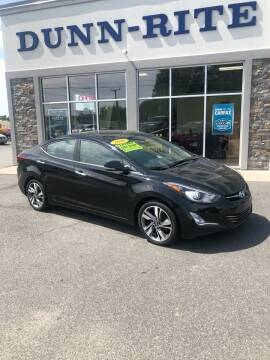 2016 Hyundai Elantra for sale at Dunn-Rite Auto Group in Kilmarnock VA