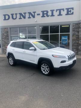 2015 Jeep Cherokee for sale at Dunn-Rite Auto Group in Kilmarnock VA