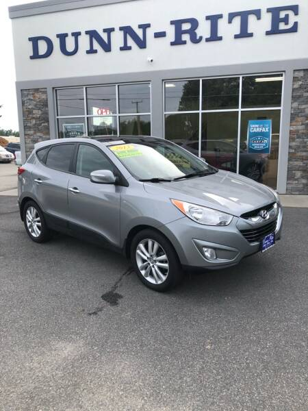 2013 Hyundai Tucson for sale at Dunn-Rite Auto Group in Kilmarnock VA