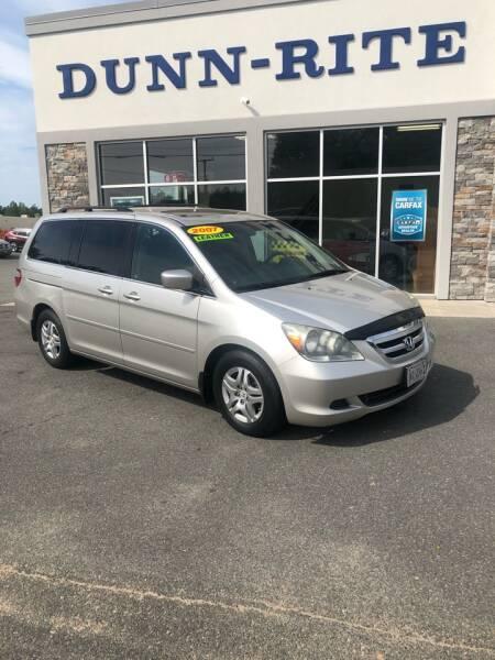 2007 Honda Odyssey for sale at Dunn-Rite Auto Group in Kilmarnock VA