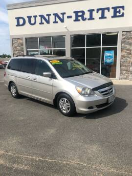 2007 Honda Odyssey for sale at Dunn-Rite Auto Group in Kilmarnock VA