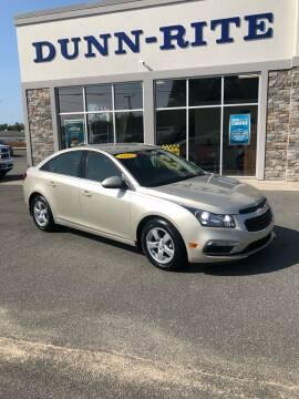 2015 Chevrolet Cruze for sale at Dunn-Rite Auto Group in Kilmarnock VA