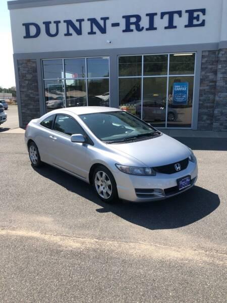 2011 Honda Civic for sale at Dunn-Rite Auto Group in Kilmarnock VA