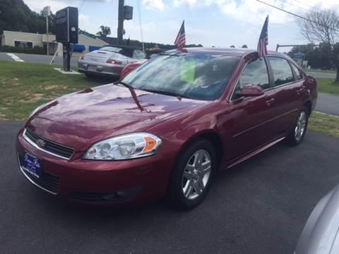 2011 Chevrolet Impala for sale at Dunn-Rite Auto Group in Kilmarnock VA