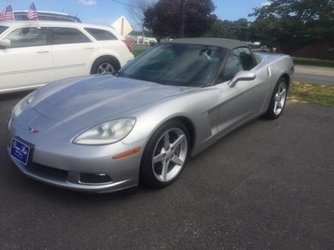 2005 Chevrolet Corvette for sale at Dunn-Rite Auto Group in Kilmarnock VA