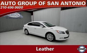 2015 Buick LaCrosse for sale in San Antonio, TX