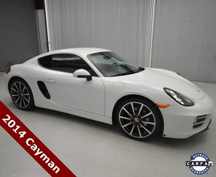 2014 Porsche Cayman for sale in San Antonio, TX