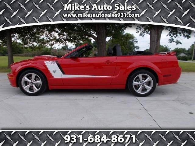 Mike Auto Sales >> 2009 Ford Mustang Gt Premium 2dr Convertible In Shelbyville