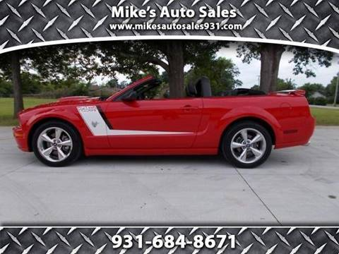2009 Ford Mustang for sale at Mike's Auto Sales in Shelbyville TN