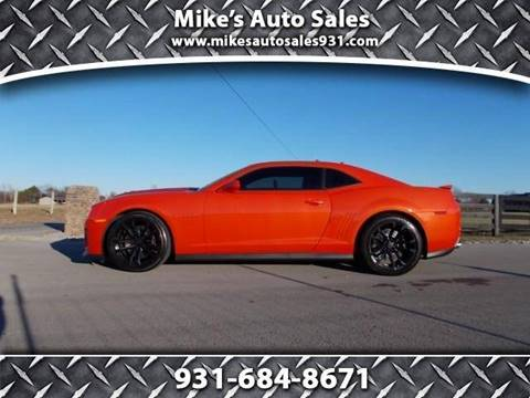 2012 Chevrolet Camaro for sale at Mike's Auto Sales in Shelbyville TN